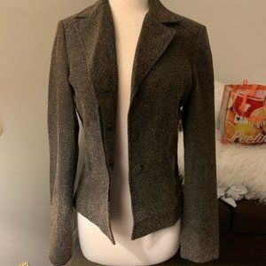 H&M Boucle Blazer Fitted